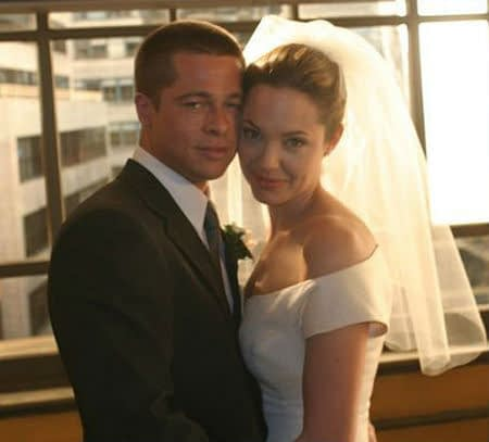 Brad Pitt and Angelina Jolie Got Married!