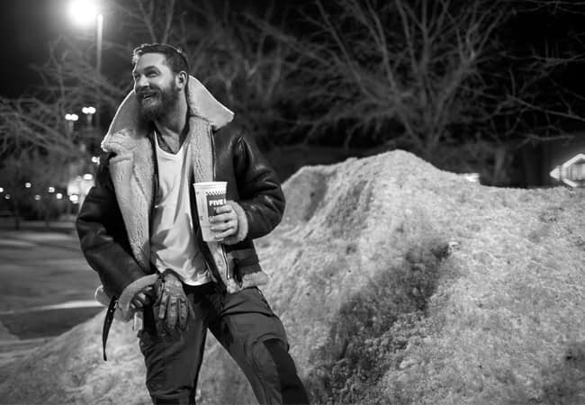 Tom Hardy Chills Out in Calgary with Esquire