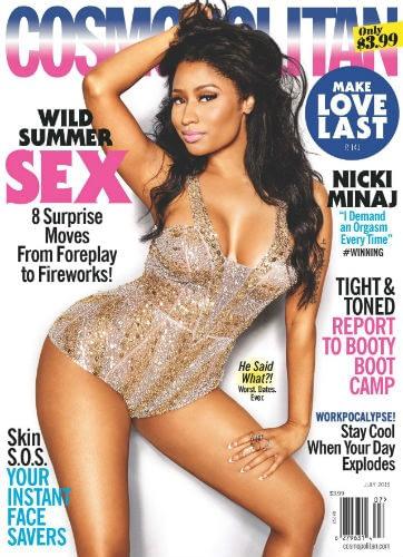 "Nicki Minaj Gives Her Friends ""Orgasm Interventions"""