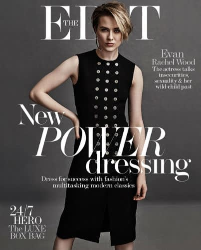Evan Rachel Wood Opens Up About Marilyn Manson, Jamie Bell