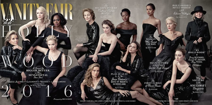 Vanity Fair's Hollywood Issue Is All Women, All the Time
