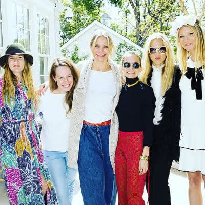 Gwyneth Paltrow Gets Goopy with Reese Witherspoon, Cameron Diaz and Nicole Richie
