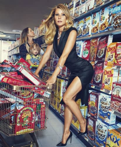 Gwyneth Paltrows Is Half-Naked at the Grocery Store