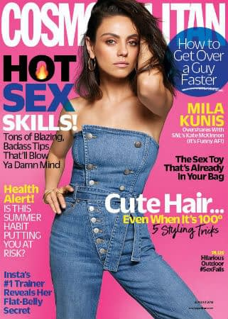 Mila Kunis Shoots Down Pregnancy Rumours