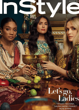 Tiffany Haddish,Salma Hayek and Rose Byrne Get Bossy in Instyle