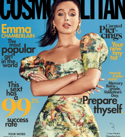 YouTuber Emma Chamberlain Covers Cosmo