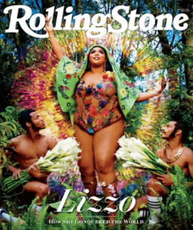 Lizzo Covers Rolling Stone