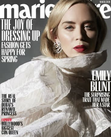Emily Blunt Collabs with Kids for Marie Claire