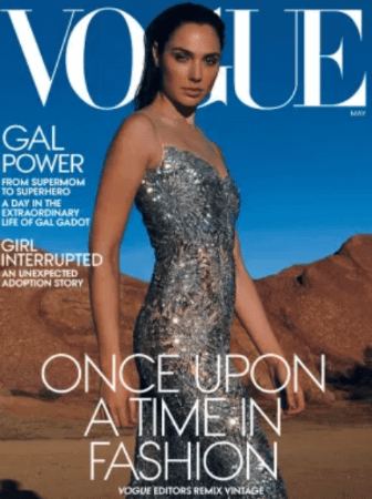 Gal Gadot Talks Marriage and Motherhood in Vogue