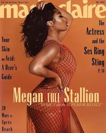 Megan Thee Stallion for Marie Claire