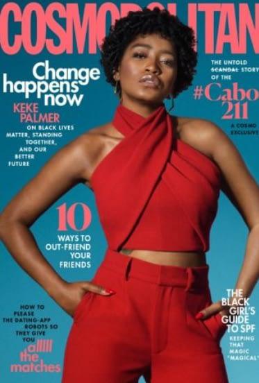 Keke Palmer Covers Cosmo