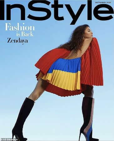 Zendaya Is Stunning In InStyle